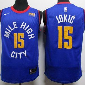 NEW NBA Nike Nikola Jokic Denver Nuggets Jersey 13